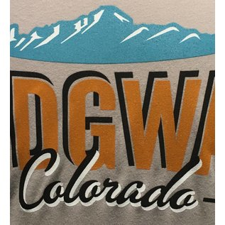 Ridgway Colorado Logo Tee - Light Grey