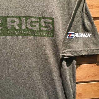 RIGS RIGS Tri Blend Tee - Military Green