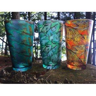 DeYoung Pilsner Pint Glass - The River
