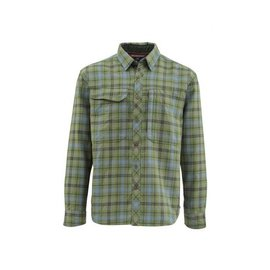 Simms Fishing Simms Guide Flannel Long Sleeve Shirt - Timber Plaid