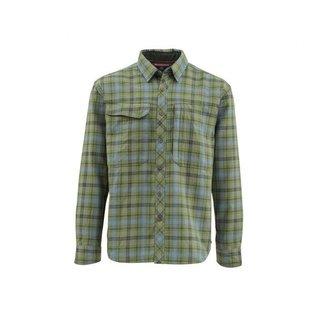Simms Fishing Guide Flannel Long Sleeve Shirt - Timber Plaid