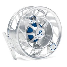 Hatch Outdoors Hatch Finatic Gen 2 Fly Reel - Silver/Blue -9 Plus Mid Arbor