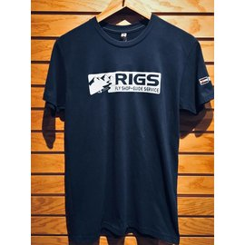 RIGS Sueded T-Shirt - Midnight Navy