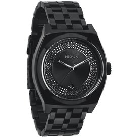 Nixon Nixon - MONOPOLY - All Black / Black Crystal