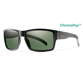 Smith Optics Smith - OUTLIER XL - Matte Black w/ CP Polar Grey Green