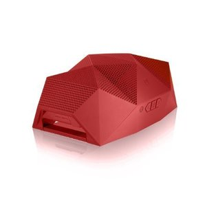 Outdoor Tech BIG TURTLE SHELL - Rugged Wireless Boombox & Powerbank - RED