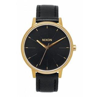 Nixon Nixon - KENSINGTON LEATHER - Gold/Black