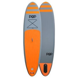 POP Paddleboards POP - iSUP - Orange w/ Paddle - 11'