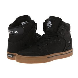 Supra Footwear Supra - KIDS VAIDER - Black/Gum -