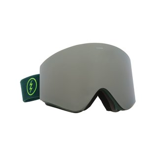 Electric Visual Electric - EGX - Hunter Green w/ Silver Chrome + Bonus Lens