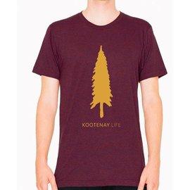 Kootenay Life Kootenay Life - GOOD TREE T - Cranberry -