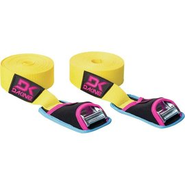 Dakine Dakine - BAJA TIE DOWN STRAPS 12' (2 pack) - Yellow