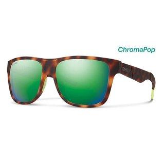 Smith Optics Smith - LOWDOWN - Matte Tortoise NEON w/ CP Sun Green Mirror