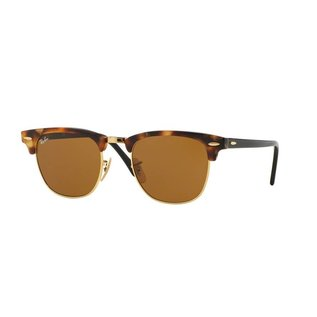 Ray-Ban Ray-Ban - CLUBMASTER 51 (1160) - Spotted Brown Havana w/ Brown