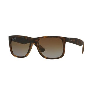 Ray-Ban Ray-Ban - JUSTIN (865/T5) - Havana Rubber w/ Brown Gradient POLAR