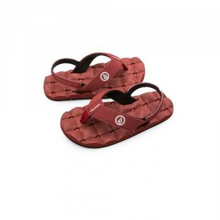 Volcom Volcom - RECLINER Lil' Yth Sandals - Crimson -
