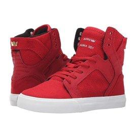 Supra Footwear Supra - KIDS SKYTOP - Red/Wht -