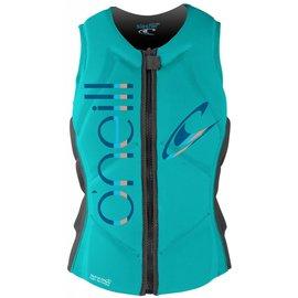 Oneill O'neill - Wmns SLASHER Comp Vest (Reversable) - Aqu/Gry -