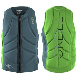 Oneill O'neill - SLASHER Comp Vest (Reversable) - Blu/Glo -