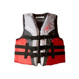 Oneill O'Neil - Youth SUPERLITE USCG PFD - Smoke/Red - 50-90lbs