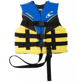 Oneill O'Neil - Child SUPERLITE USCG PFD - Yel/Blk -30-50lbs