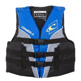 Oneill O'Neil - Youth SUPERLITE USCG PFD - Smoke/Blu - 50-90lbs