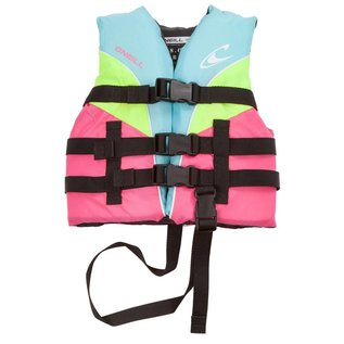 Oneill O'Neil - Child SUPERLITE USCG PFD - Turq/Lim - 30-50lbs