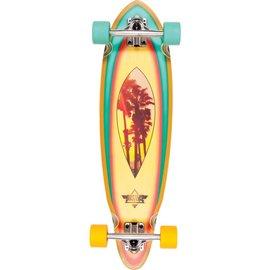"""Dusters Dusters - MINI FIN Longboard 31"""" - Palms"""