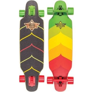 "Dusters WAKE MINI 32"" Longboard - Rasta"