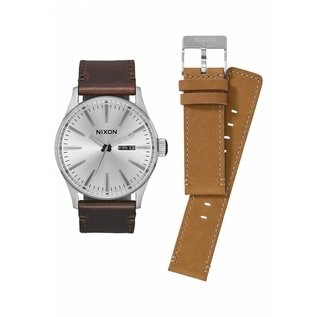 Nixon Nixon - SENTRY PACK (extra band) - Wht/Brn/Tan
