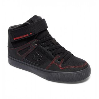 DC DC - Yth SPARTAN HIGH SE EV - Blk/Red/Gry -
