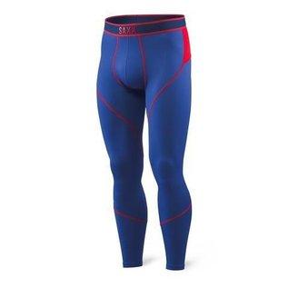 Saxx Saxx - KINETIC FULL LEG - Blu/Red -