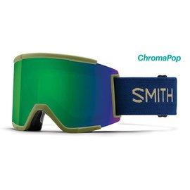 Smith Optics Smith - SQUAD XL - Navy Camo Split w/ CP Sun Green Mirror + Bonus CP Lens