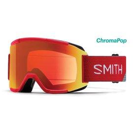 Smith Optics Smith - SQUAD - Fire Split w/ CP Everyday Red Mirror + Bonus Lens