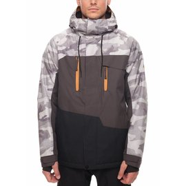 686 686 - M's GEO Insulated Jkt - Gry Camo -