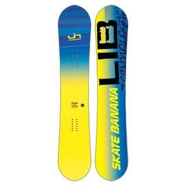 Lib Tech Lib TECH - SK8 BANANA BTX SNOWBOARD  (2018) - Yellow - 156Wcm