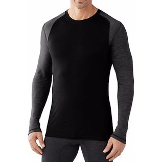 Smartwool Smartwool - Mens Merino 250 Pattern Crew - Blk/Gry -
