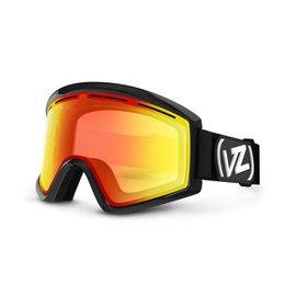 Von Zipper VZ - CLEAVER - BLACK w/FIRE + Bonus Lens - YLW