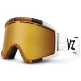 Von Zipper VZ - CLEAVER - WOODY w/GOLD + Bonus Lens - YLW