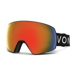 Von Zipper VZ - SATELLITE - BLK w/FIRE + Bonus Lens - YLW