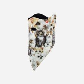 AirHole AIRHOLE - FACEMASK (velcro) - Meow print -