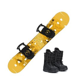 Syndicate RENTAL - Adult SNOWBOARD PKG (Instore Only)