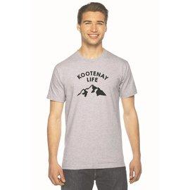 Kootenay Life Kootenay Life - ADVENTURE TEE - Grey -