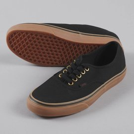 Vans Vans - AUTHENTIC - Black/Rubber -