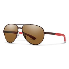 Smith Optics Smith - SALUTE - Matte Brown w/ POLAR Brown