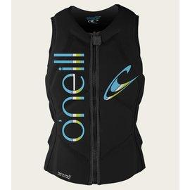 Oneill O'Neill - Wmns SLASHER Comp Vest (Reversible) - Blk/Blk -