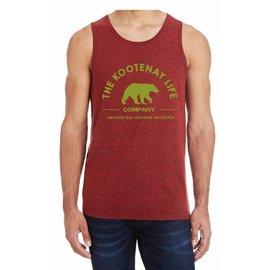 Kootenay Life Kootenay Life - Company Bear Tank - Red -