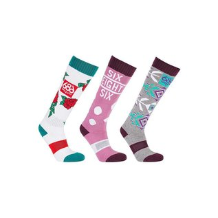 686 686 - Wmns HEATER Socks (3 Pk)