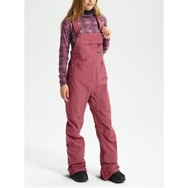 Burton Burton - AVALON Wmns Bibs - Rose Brown - M