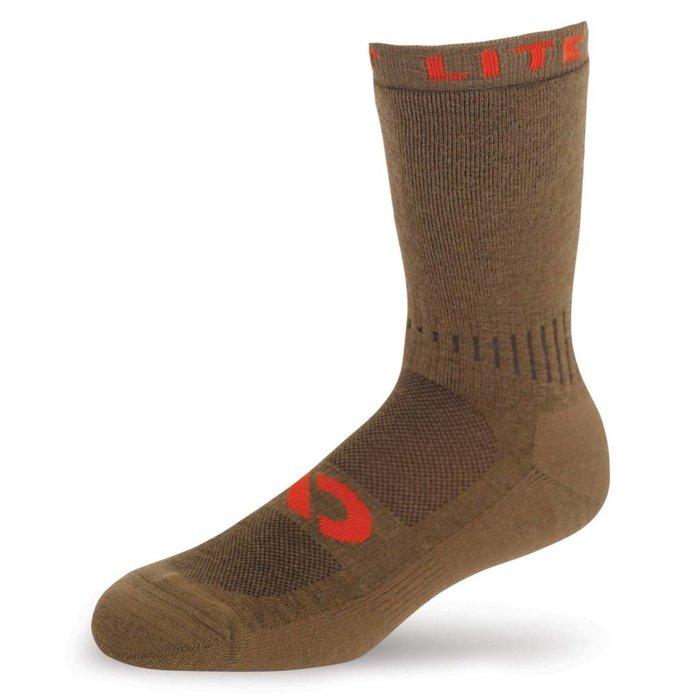 First Lite Mountain Athlete Crew Sock